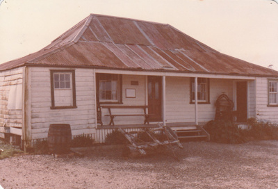 Eckford's homestead in the Howick Historical Village.; La Roche, Alan; July 1983; P2021.08.05