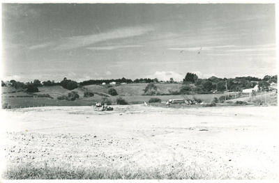 Pakuranga College site development; Sloan Photo Service, Clovelly Road, Bucklands Beach; 1961; 2017.235.58