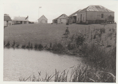 Brindle Cottage, Courthouse, Maraetai Homestead, de Quincy's and Johnson's; 1/09/1980; 2019.100.86