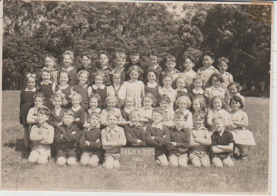 Howick District High School Pupils, Std 1R 1952.; Sloan, Ralph S, Auckland; 1952; 2019.072.40