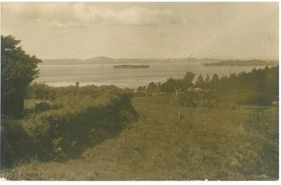 Hauraki Gulf and Flat Island; Duncan, Frank; 2016.565.92