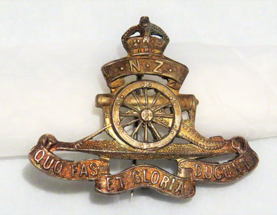 Military Badge; New Zealand Military; O2018.71