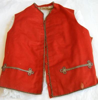 Waistcoat; Unknown; 1840-1850; T2015.26