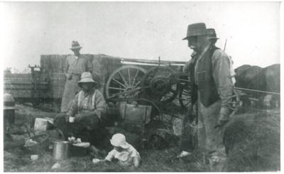 Haymaking at Point Farm,; c1900; 2016.293.77