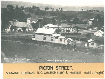 Corner of Wellington Street and Picton Street; Tourist Series; 1916; 2016.178.02
