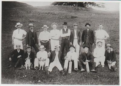 Pakuranga Cricket Club 1903; 1903-4; 2017.358.06