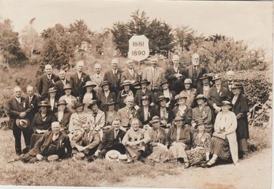 Pakuranga School Reunion, 1936; Heimbrod, G K, Newton, Auckland; 1936; 2019.013.02
