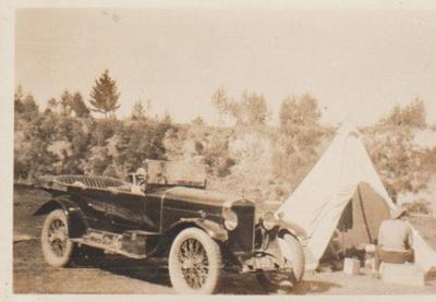 The camp at Taupo 1929; 1929; 2017.462.15