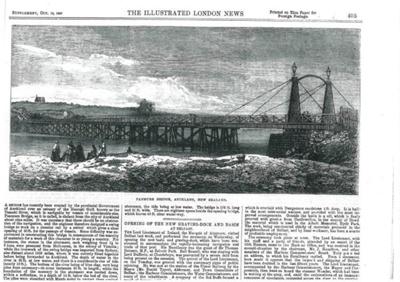 Panmure Bridge; 1867; 2017.278.07
