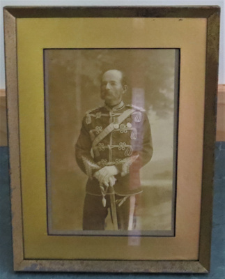 Photograph of Col Arthur Morrow in Military unifor...
