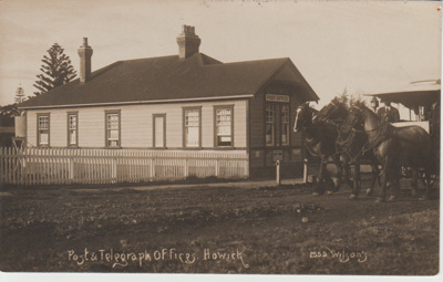 The Post & Telegraph Office, Howick; Wilson, W T; 1/01/1954; 2018.072.01