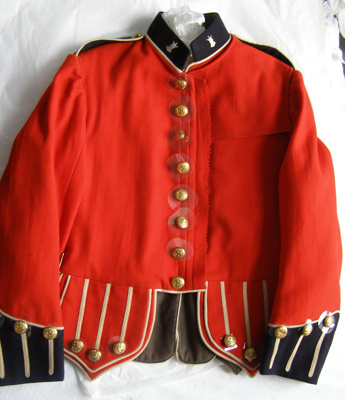 Military Pipe Band Jacket; HB New Zealand Clothing Factory; 1900-1940; T2015.31