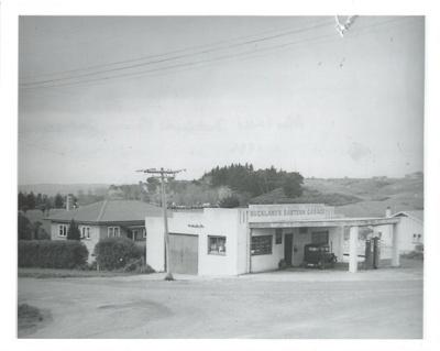 Alex Vaille's Bucklands's Eastern Garage; c1946; 2017.032.86