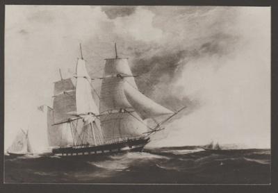 Sir George Seymour under sail; 2017.483.50