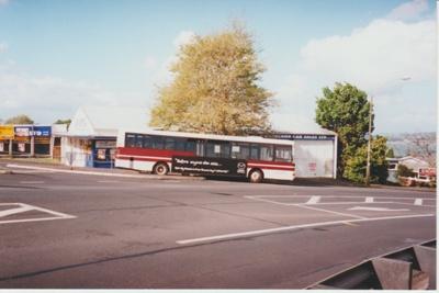 The Howick Bus Company's bus in the 50s.; La Roche, Alan; c2000; 2017.492.08
