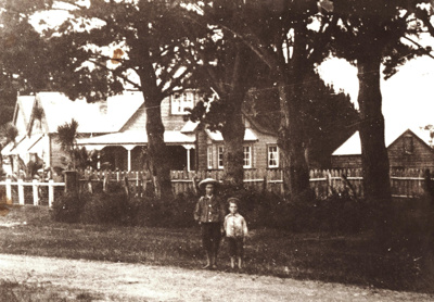Owhanga, the home of the Windross family in Cook...