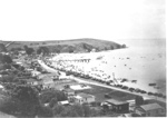 Maraetai Beach and Wharf; c. 1950; 7158