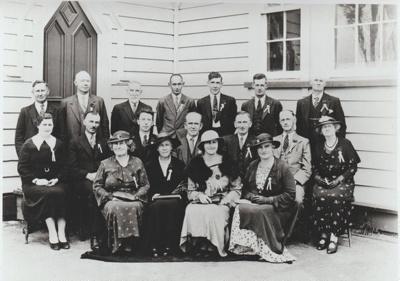 Pakuranga School Reunion, Jubilee Committee 1936; Heimbrod, G K, Newton, Auckland; 1936; 2019.013.06