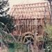 Bycroft's flour mill in Howick Historical Village under construction.; La Roche, Alan; 20 September 1992; P2021.86.08