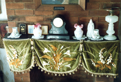 Fireplace in Johnson's Cottage; 1/11/1989; 2017.500.03