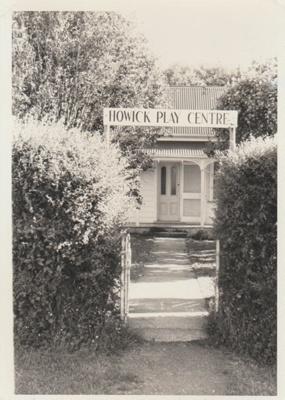 Howick Play Centre; La Roche, Alan; 1968; 2018.078.04