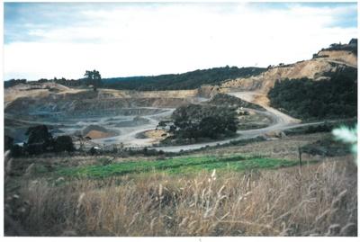 Whitford quarry, 2009; La Roche, Alan; 2009; 2017.080.20
