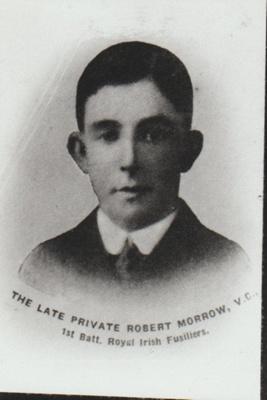 Private Robert Morrow, VC; 1905; 2018.394.03