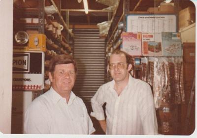 Auckland Motors staff, 1980; 1980; 2017.461.10