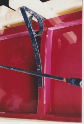 Horse bus bracket; La Roche, Alan; c1990; 2017.455.67