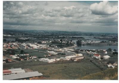 From Mt Wellington, 1950; La Roche, Alan; 1950; 2017.296.02
