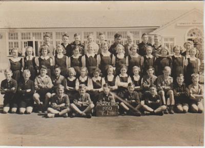Howick District High School Form 1, 1950; Sloan, Ralph S, Auckland; 1950; 2019.072.30
