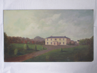 """""""Corrabola House. County Longford Ireland""""; Col. A. Morrow (1842-1937) [attributed]; pre 1861; 2010.82.1"""