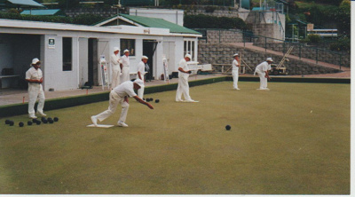 Howick Bowling Club at Nixon Park; Chipperfield, Fred; c2000; 2017.371.24