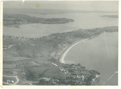 Eastern Beach aerial c1972.; Whites Aviation?; c1972; 2017.050.13