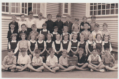 Howick DHS Pupils 1942.Stds 2 and 3.; 1943; 2019.087.05