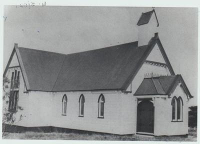 St Andrews Presbyterian Church on Ridge Road.; 2018.253.04