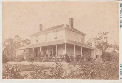 Ellen Maclean, Bleak House Homestead.; Redfern, Richard; c1880; 2018.029.02