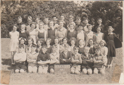 Howick District High School Pupils, Std IVE 1952.; Sloan, Ralph S, Auckland; 1952; 2019.072.45