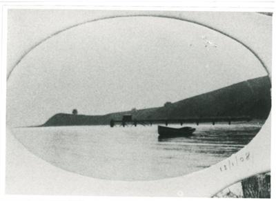 Wharf at Maraetai Beach; January 13 1908; 2017.300.53