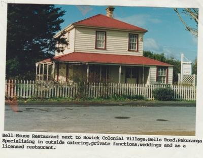 Bell House restaurant.; 1992-2000; 2018.067.78
