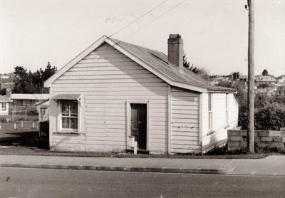 James White's Post Office and Store, Howick. Moore...