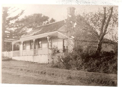 House used as a hall, Howe St, Howick.; 11010