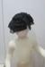 Fine black crepe hat ; T.2017.233