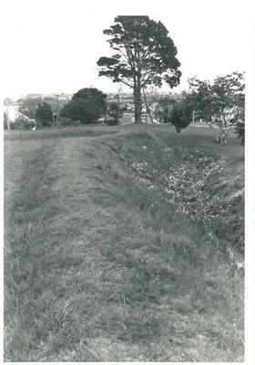 Trench on Stockade Hill; La Roche, Alan; Sept. 1969; 2016.311.54