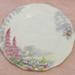 Decorative plate; Bell China; O2018.30