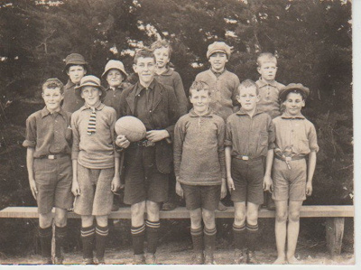 Whitford Brick School boys c1930; Hattaway, Rev. R; c1930; 2019.065.17