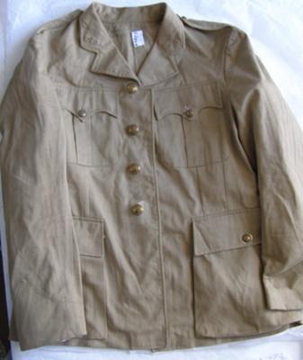 NZ Army Uniform Jacket; Unknown; T2015.30