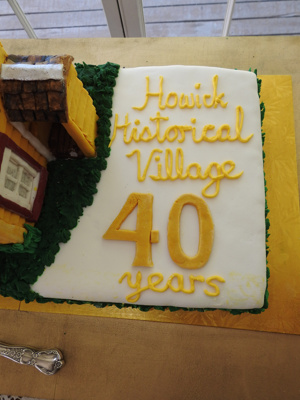 Howick Historical Village 40 years Celebratory Cake.; Warbrook, Ireen; 8 March 2020; P2021.01.01