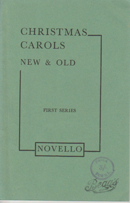 Christmas carols new & old: first series; 1980; 2019.4.04
