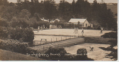 Bowling Greens, Howick; c1915; 2017.361.09